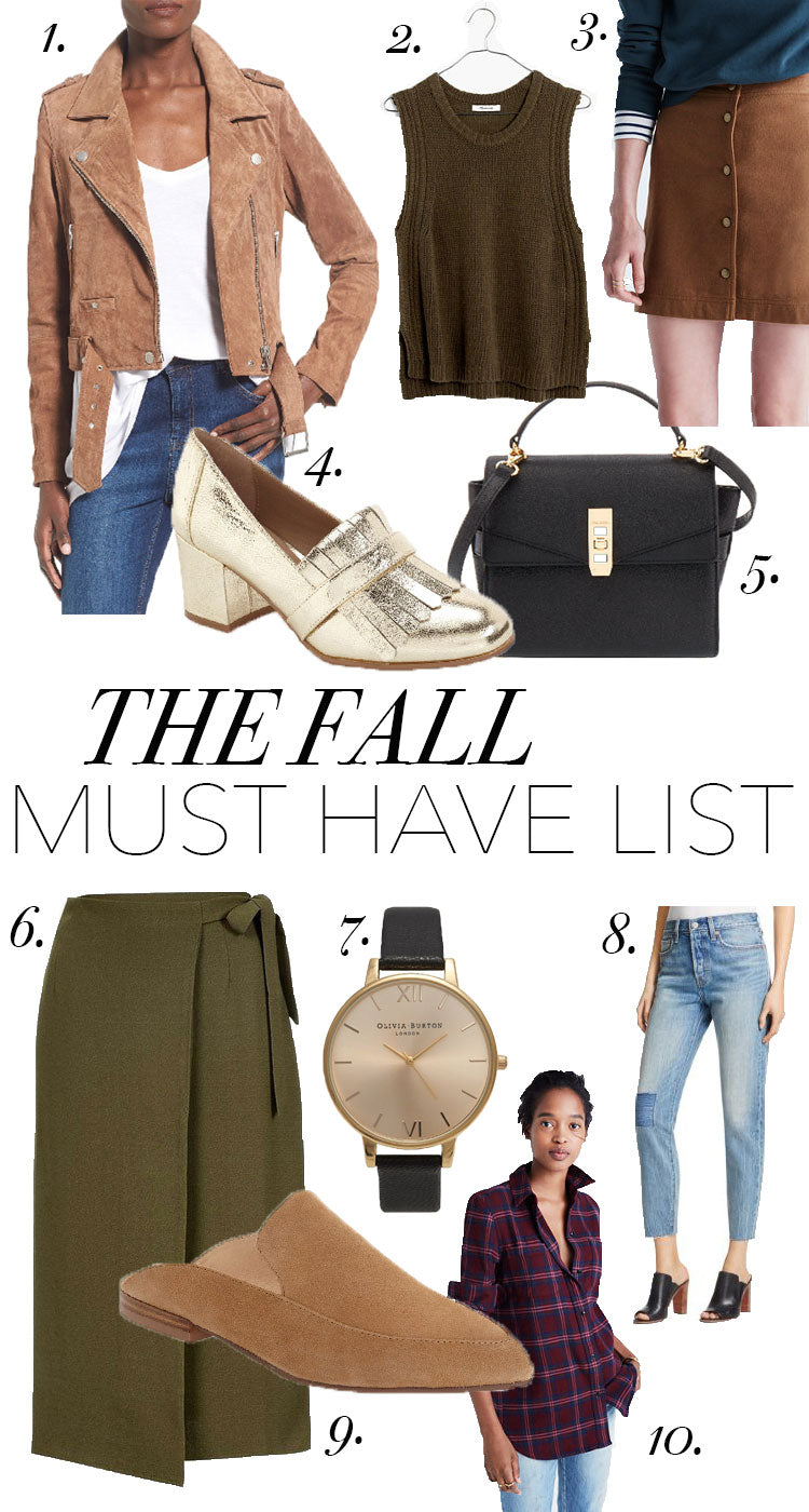 fall fashion, suede jacket, levis, mules, henri bendal,