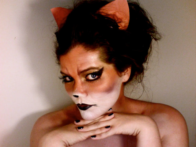 Foxy ladies: this one might require some face paint. But your look will be totally worth it.