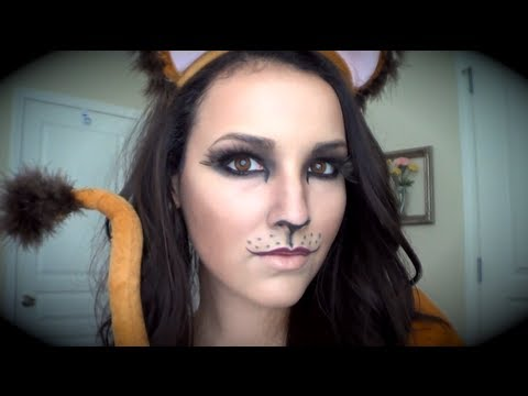 "Like the deer, ""Cute Lion"" makeup can be done from cosmetics you already own. Watch the tutorial here."