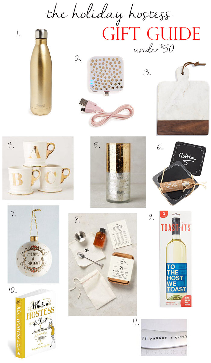 christmas gifts for the hostess