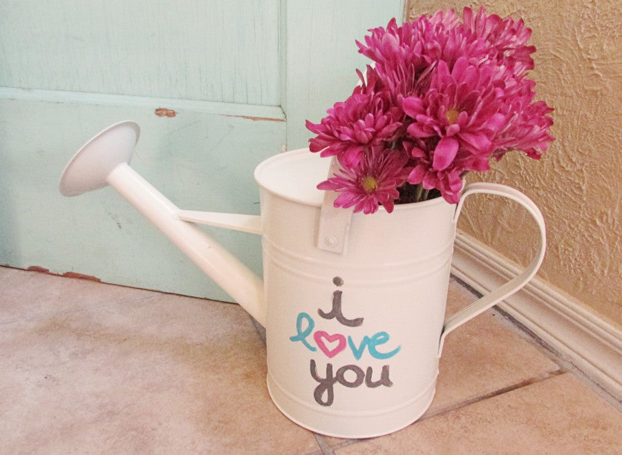 mother's day watering can diy