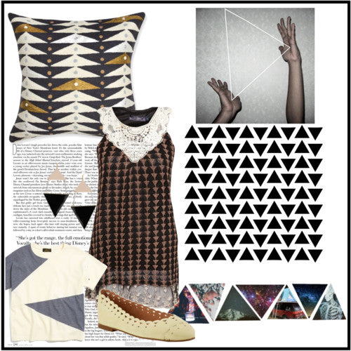 polyvore triangles