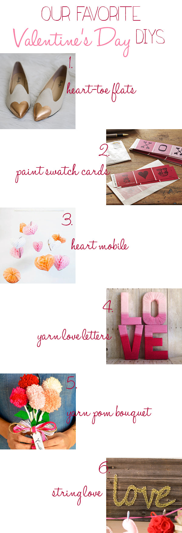 Valentine's Day DIY Guide