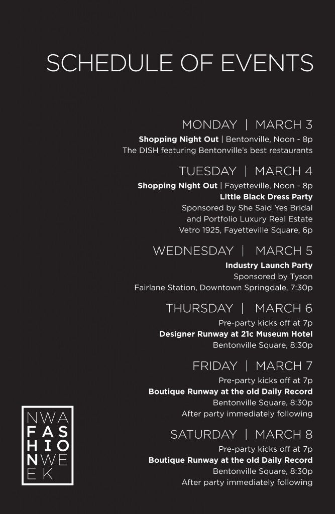 schedule nwafw
