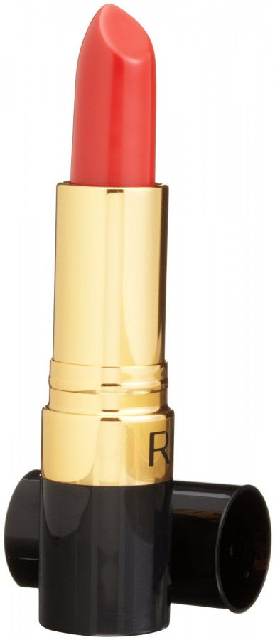 this peppy lipstick is also from revlon. the shade is Siren and it's also available on revlon.com.