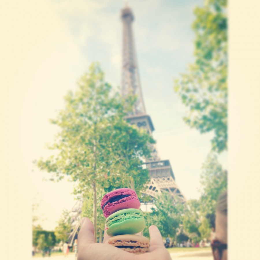 Eiffel Tower and Macarrons