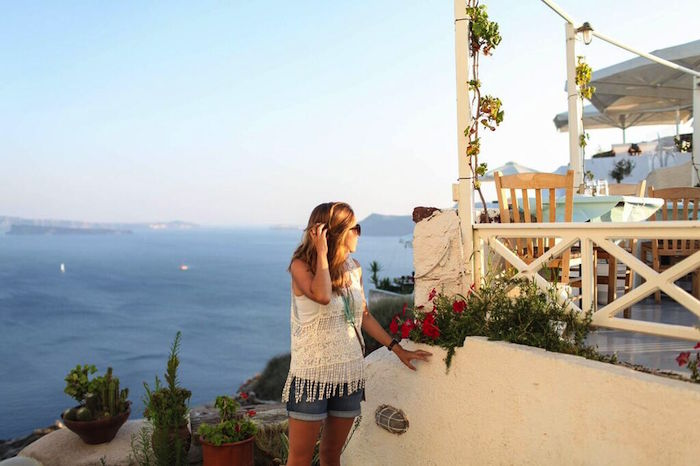 travel, explore, greece, santorini
