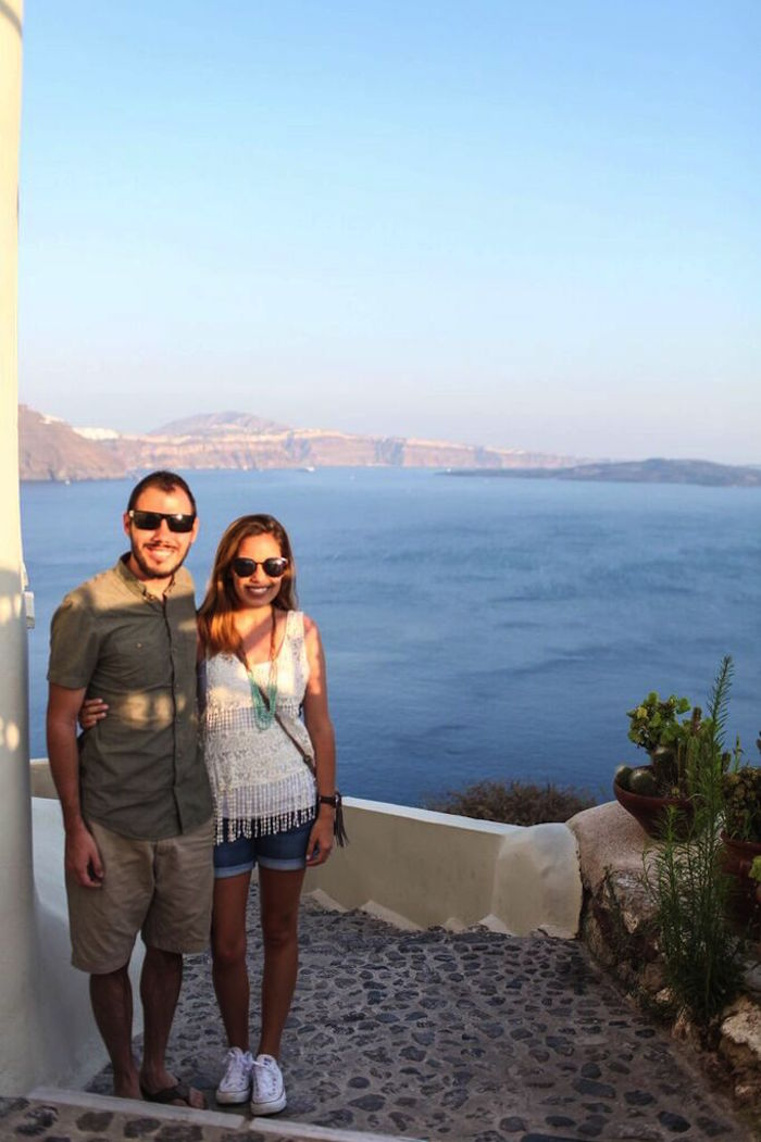 explore santorini greece