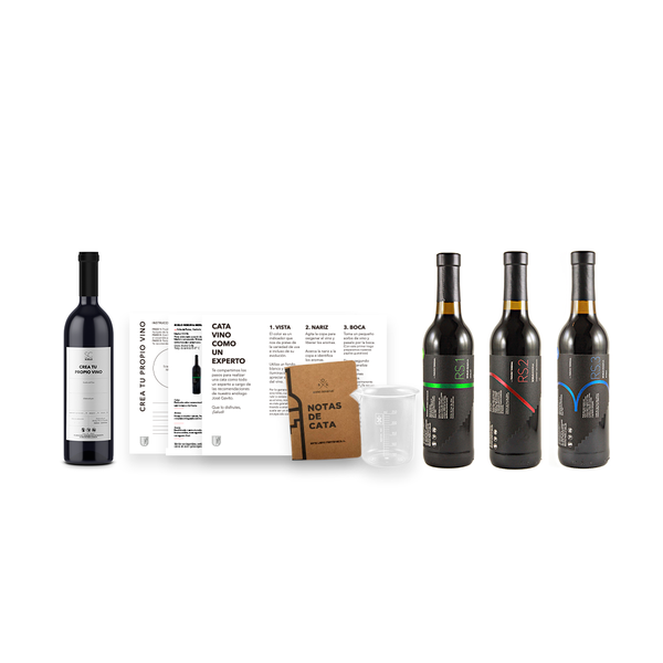 KIT CREA TU VINO EN CASA 375ML