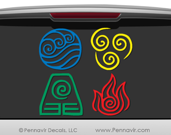 Avatar Nation Symbols Bundle Deal - Get all 4 decals!