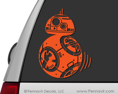BB8 Droid Decal