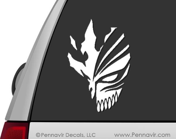 Bleach Mask Decal