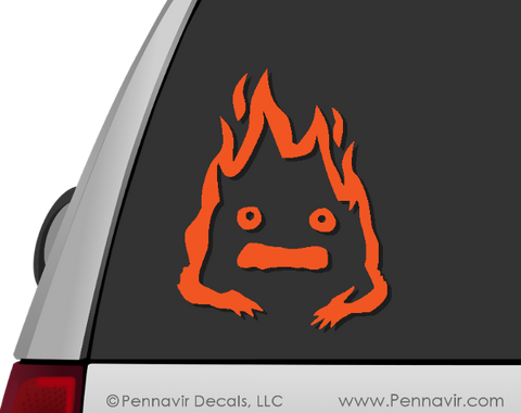 Calcifer Decal