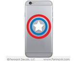 Captain America Shield Decal