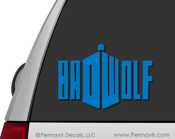 Badwolf Decal