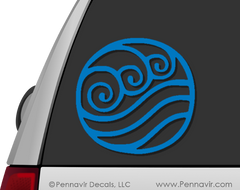 Water Tribe Symbol Decal