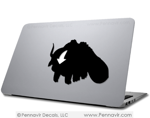 Appa Decal - Available in Macbook Size!