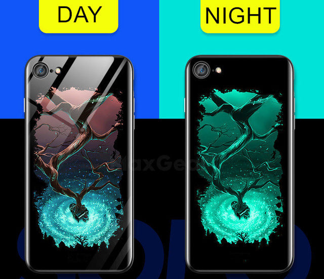 Gloss iPhone Case - Luminous Portal Tree - Shire Fire