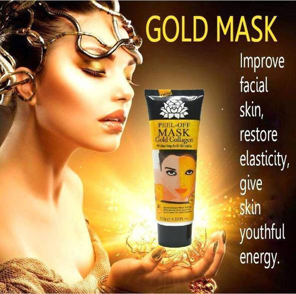 DEEP REPLENISHING 24K GOLD MASK - Shire Fire