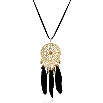 Luxury Dreamcatcher Rope Necklace