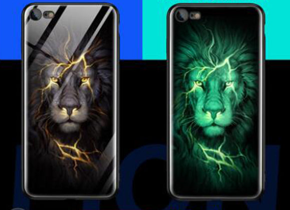Gloss iPhone Case - Lion - Shire Fire
