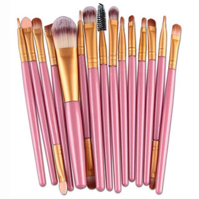 Set of 15 Makeup Brushes - Shire Fire