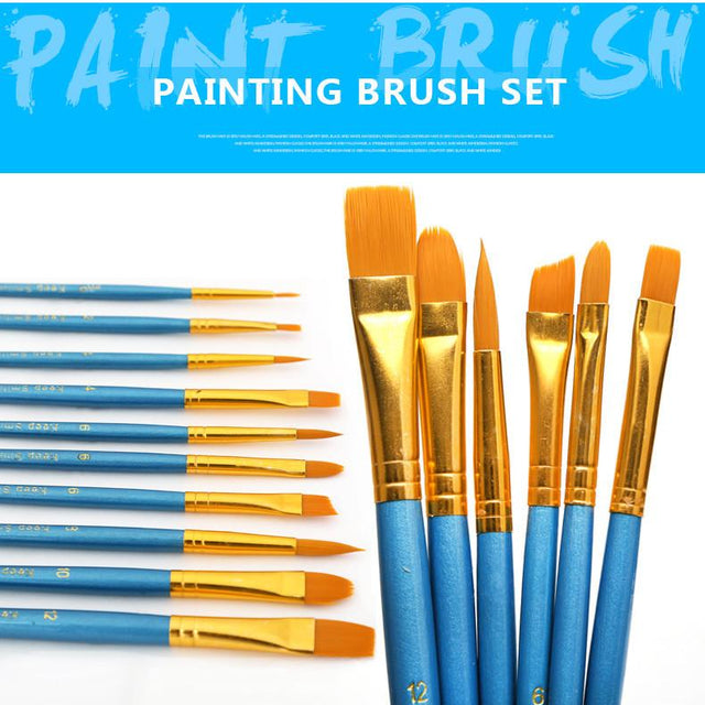 Paint Brushes - 10 Piece Set - Shire Fire