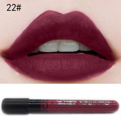 Matte-Velvet Lip Gloss - Shire Fire