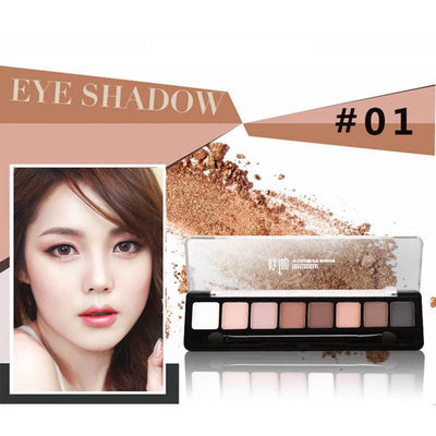 8 Color Eye Shadow - Shire Fire
