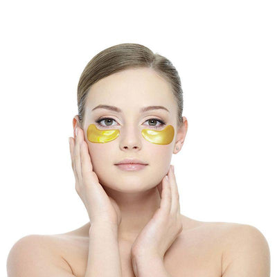 Gold Crystal Collagen Eye Mask - Shire Fire