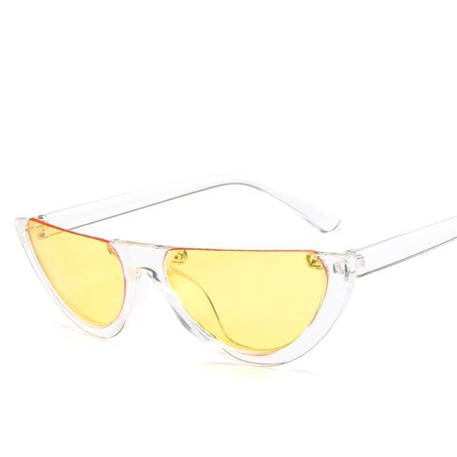 Half Frame Cat Eye Sunglasses - Shire Fire