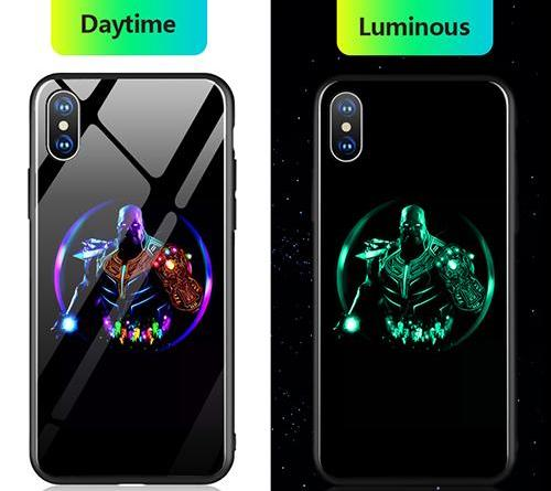 Gloss iPhone Case - Mad Titan Luminous - Shire Fire