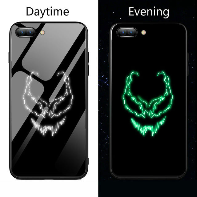 Gloss iPhone Case - Luminous Alien Symbiote - Shire Fire