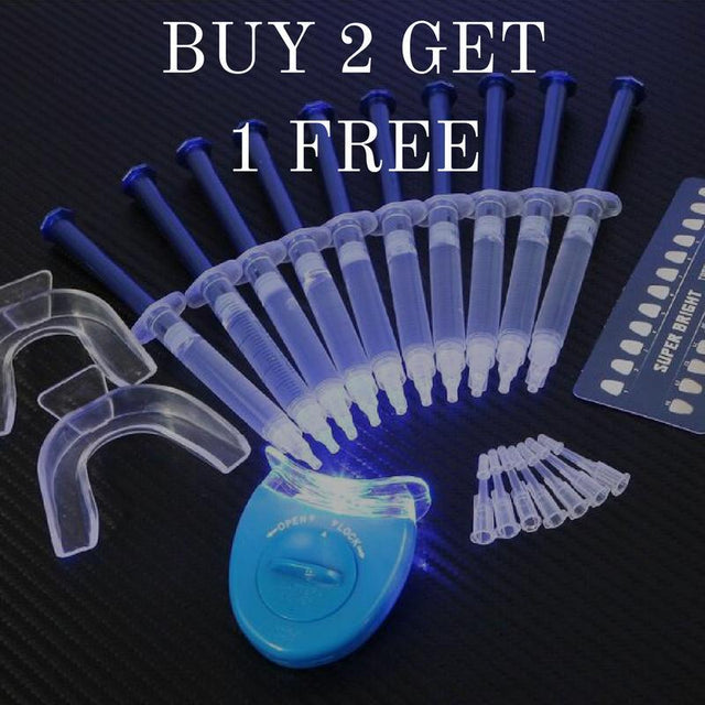 BUY 2 GET 1 FREE Shire Fire LED Teeth Whitening Kit - Shire Fire