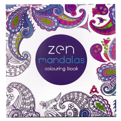 Zen Mandalas Coloring Book
