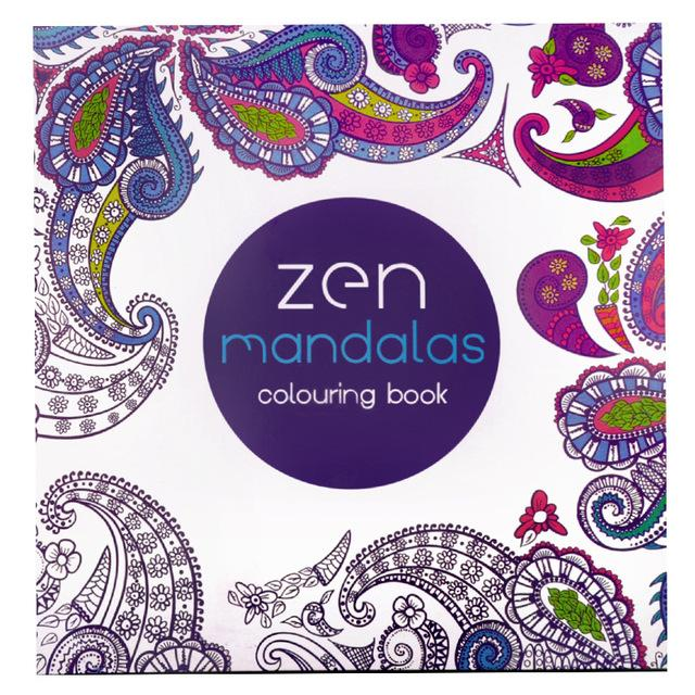Zen Mandalas Coloring Book - Shire Fire