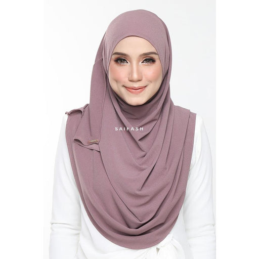 Aralyn Moss Instant | Light Plum - Instant Shawl