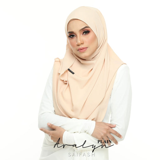 Aralyn Plain Instant | Cream - Full Instant