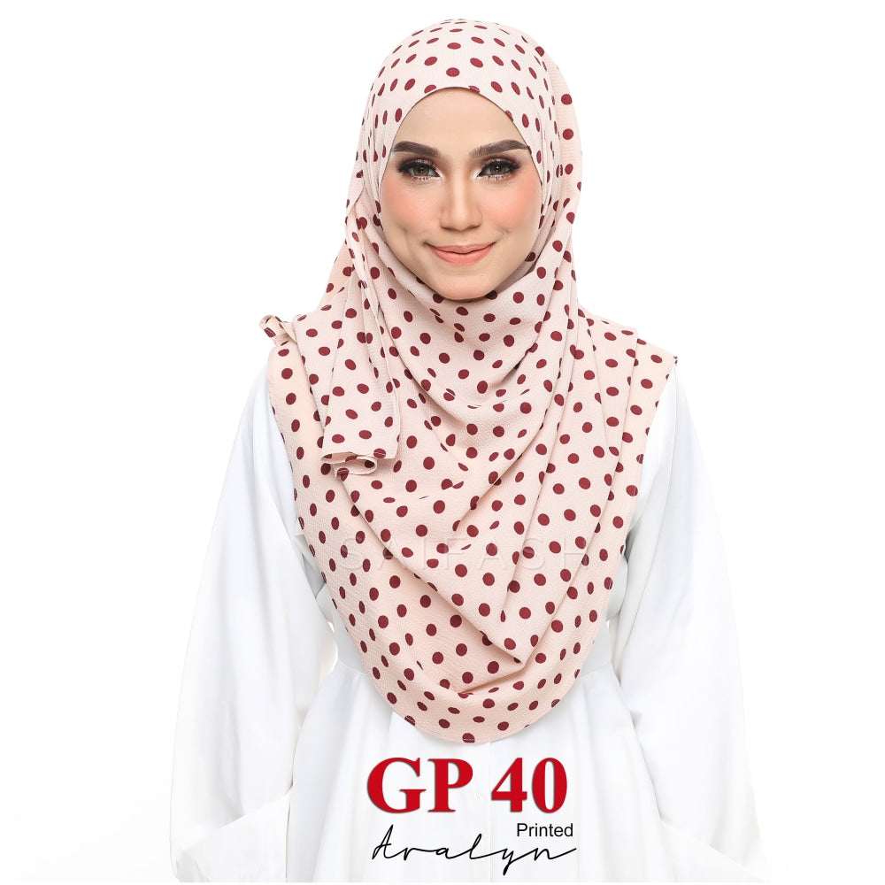 Aralyn Printed Instant | GP40 Polka Dots - Full Instant