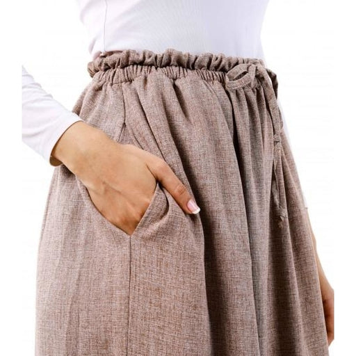 Bayu Long Tunic (Pants) | Brown (PREORDER) - Pants