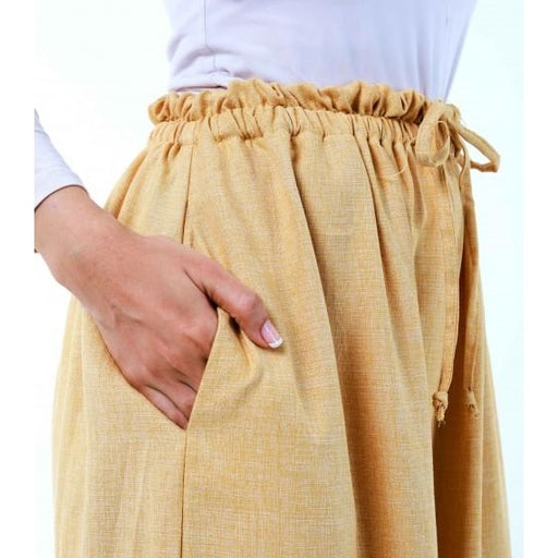 Bayu Long Tunic (Pants) | Custard Yellow (PREORDER) - Pants