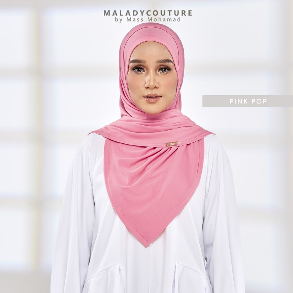 Fit Me Instant Syria Dual Tone Shawl | Pink Pop - Semi Instant