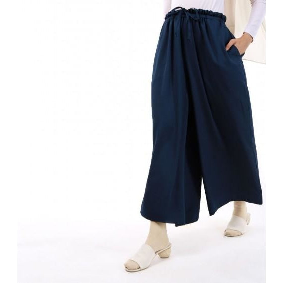 Jenna Crepe Pants | Dark Blue (PREORDER) - Pants