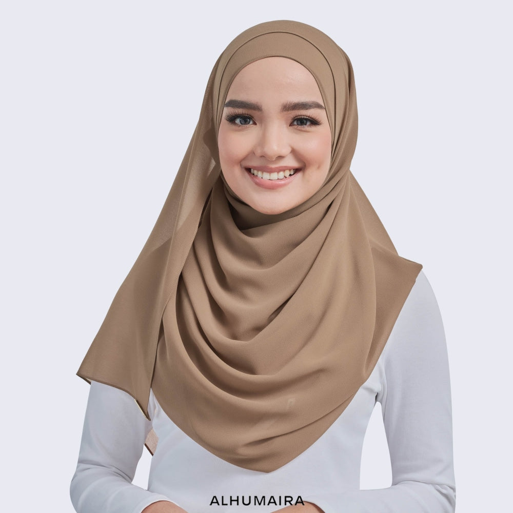 Trubasic Plain Shawl | Spanish Brown - Shawl