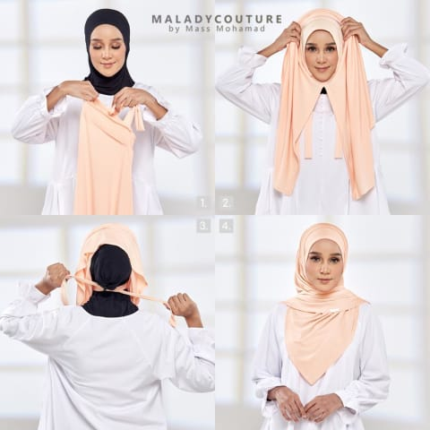 Fit Me Instant Syria Dual Tone Shawl | Pink Pop