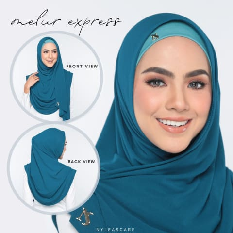 Melur Express | Dusty Teal