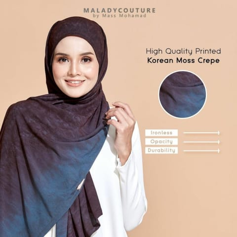 Style-Lit Tie Back Long Shawl Printed | Twilight