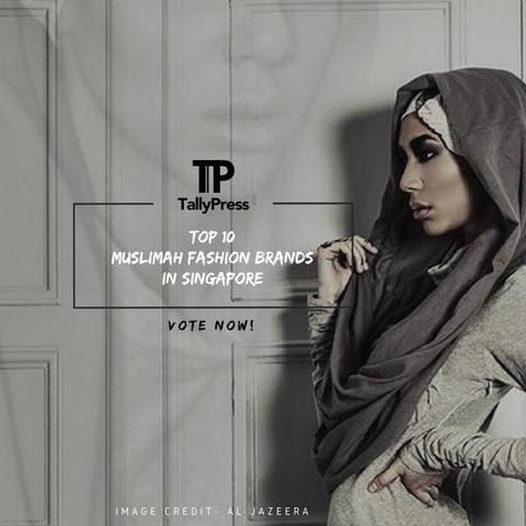 We are TOP 10 Muslimah Fashion Brands In Singapore
