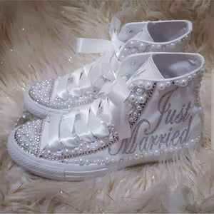 """Just Married"" Pearl Converse"