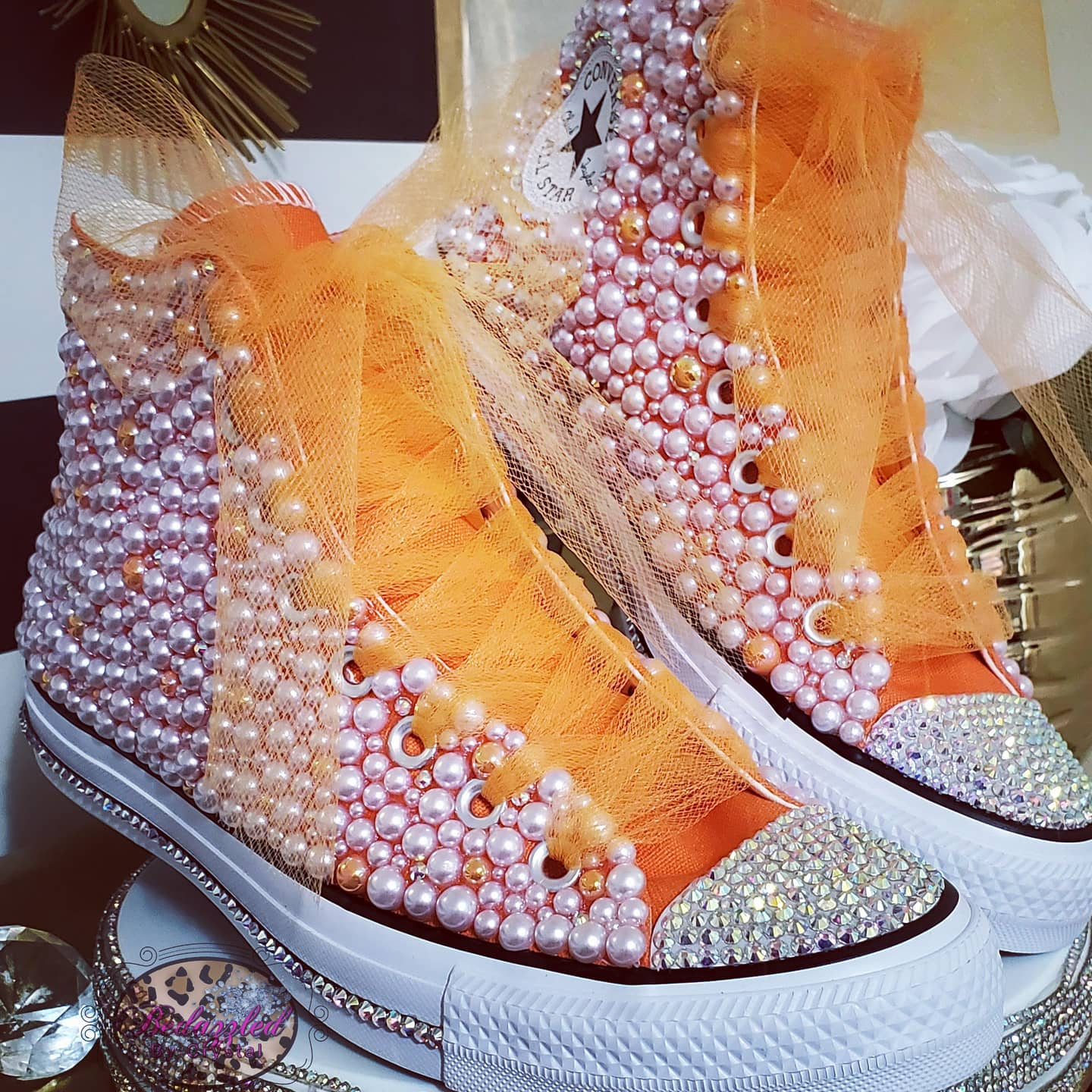 Pearl Mix High Converse